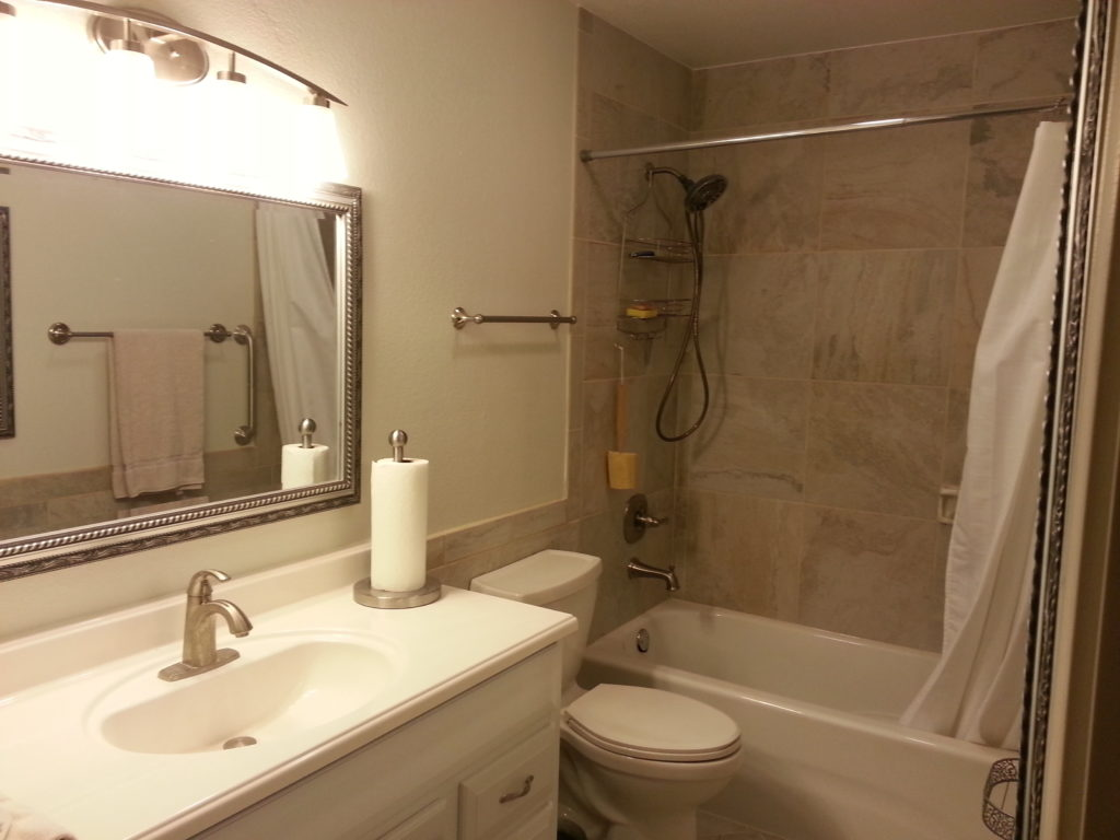 Small bath remodel jmj remodeling experts for Small bath redo