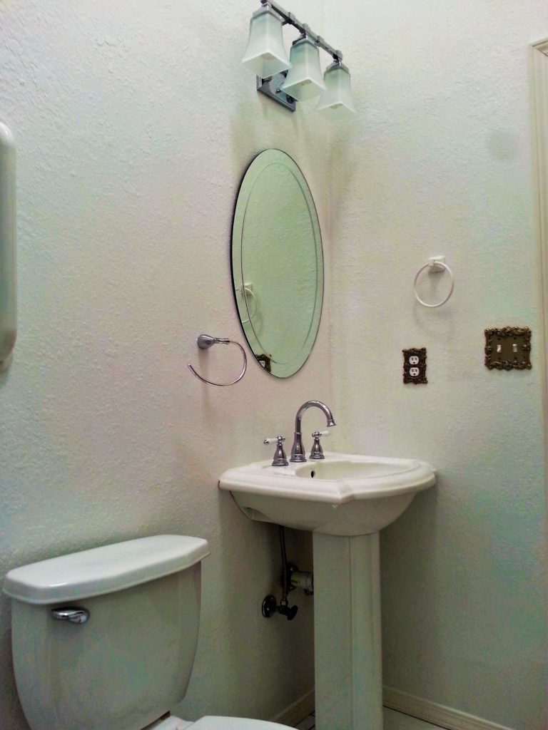 Small bathroom remodel jmj remodeling experts for Small bathroom renovation photo gallery